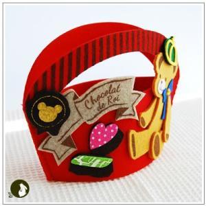 バレンタイン:クッキー・焼菓子詰合せ「くまの王様」 1260円|yukiusagi|06