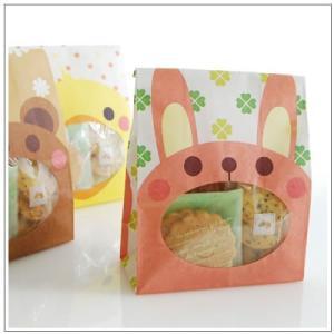 バレンタインのお返しに:ホワイトデーのクッキー・焼菓子詰合せ「パックンアニマル」 546円 yukiusagi 02