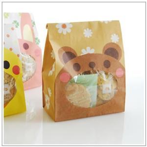 バレンタインのお返しに:ホワイトデーのクッキー・焼菓子詰合せ「パックンアニマル」 546円 yukiusagi 04