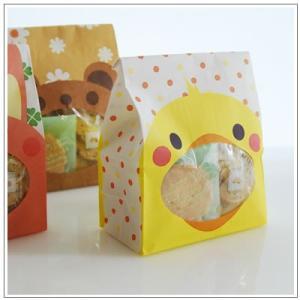 バレンタインのお返しに:ホワイトデーのクッキー・焼菓子詰合せ「パックンアニマル」 546円 yukiusagi 05