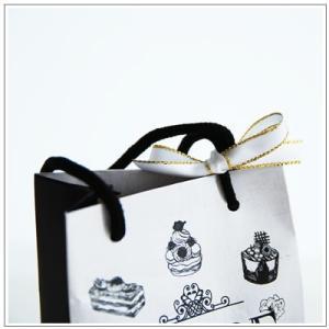 バレンタインのお返しに:ホワイトデーのクッキー・焼菓子詰合せ「モノクロシュクル」 788円|yukiusagi|04