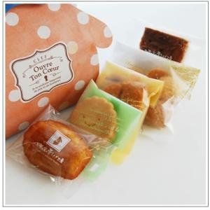 バレンタインのお返しに:ホワイトデーのクッキー・焼菓子詰合せ「シマドットバニー」 851円|yukiusagi|03
