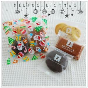 クリスマスギフト特集:クッキー・焼菓子詰合せ「クリアサンタ」473円 yukiusagi