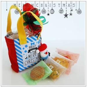 クリスマスギフト特集:クッキー・焼菓子詰合せ「クリスマスバッグ」1360円 yukiusagi