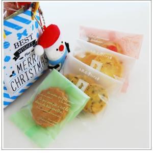 クリスマスギフト特集:クッキー・焼菓子詰合せ「クリスマスバッグ」1360円 yukiusagi 06