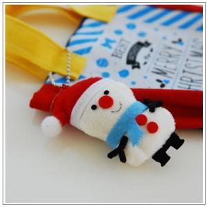 クリスマスギフト特集:クッキー・焼菓子詰合せ「クリスマスバッグ」1360円 yukiusagi 08