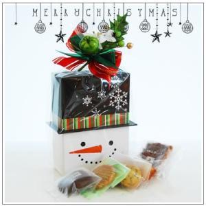 クリスマスギフト特集:クッキー・焼菓子詰合せ「パズィ スノーマン」1480円|yukiusagi