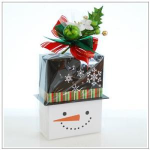 クリスマスギフト特集:クッキー・焼菓子詰合せ「パズィ スノーマン」1480円|yukiusagi|02