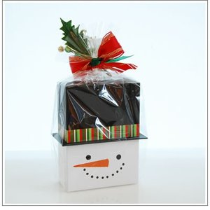 クリスマスギフト特集:クッキー・焼菓子詰合せ「パズィ スノーマン」1480円|yukiusagi|05