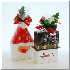 クリスマスギフト特集:クッキー・焼菓子詰合せ「パズィ スノーマン」1480円|yukiusagi|06