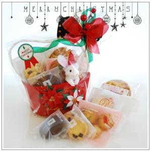クリスマスギフト特集:クッキー・焼菓子詰合せ「ポインセチア」1566円|yukiusagi