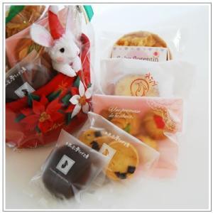 クリスマスギフト特集:クッキー・焼菓子詰合せ「ポインセチア」1566円|yukiusagi|04