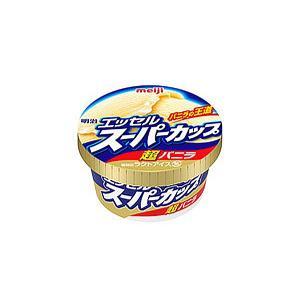 (本州一部送料無料)明治乳業 エッセルスーパーカップ超バニラ 24入