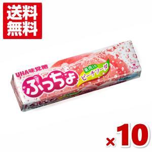 味覚糖 ぷっちょスティック ピーチソーダ 10入 (ポイント消化) (np) メール便全国送料無料|yukkun-reitou