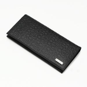 メンズ財布 人気ブランド カルバンクライン CALVIN KLEIN ロゴ型押し 本革 長財布 小銭収納可 USA直輸入モデル 74283 送料無料 yukyuno-tabibito