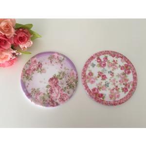 コースター ローズ 6枚セット 薔薇雑貨 おしゃれ バラ rose キッチン雑貨 テーブルウェア メ...