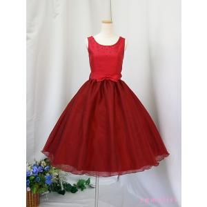 高級子供ドレス 受注生産 ゆめりすと プリンセス・アド III ワイン|yume-list