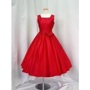 高級子供ドレス 受注生産 ゆめりすと オールシャンタンプリンセス ワインレッド|yume-list