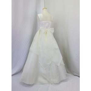 高級子供ロングドレス ゆめりすと ベルリナージュ アレンジ アイボリー 165 (1着限り)|yume-list|03