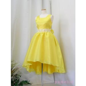 高級子供ドレス 受注生産 ゆめりすと セレモニー イエロー|yume-list