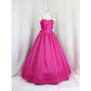 高級子供ロングドレス ゆめりすと チェリーズ・シスター ローズピンク 165|yume-list