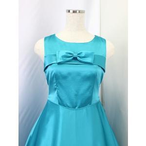 高級子供ロングドレス ゆめりすと エントラータ・RS ターコイズブルー 130|yume-list|02