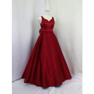 高級子供ロングドレス ゆめりすと フェアリー ワインレッド 155  (1着限り)|yume-list