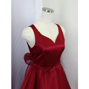 高級子供ロングドレス ゆめりすと フェアリー ワインレッド 155  (1着限り)|yume-list|02