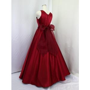 高級子供ロングドレス ゆめりすと フェアリー ワインレッド 155  (1着限り)|yume-list|03