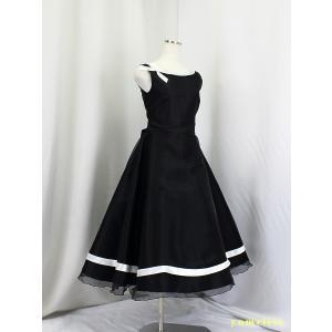 高ゆめりすと プラネットv3 ブラック 130 (9):演奏会発表会用子供ドレス yume-list