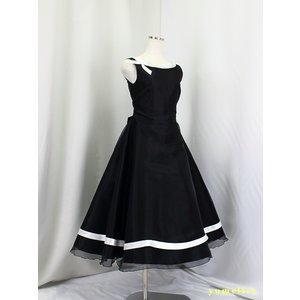 ゆめりすと プラネットv3 ブラック 150 (13):演奏会発表会用子供ドレス yume-list