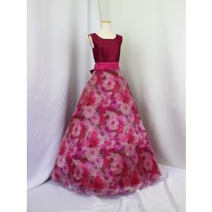 高級子供ドレス 受注生産 ゆめりすと セレナーデss ブルゴーニュ|yume-list