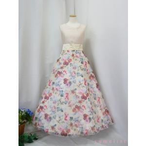 高級子供ドレス 受注生産 ゆめりすと セレナーデss アイボリー|yume-list