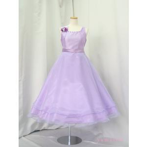 高級子供ドレス ゆめりすと ビクトリア v4 ライラック 150 (13)|yume-list