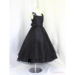 高級子供ドレス ゆめりすと ビクトリアv4 ブラック 150 (13)|yume-list