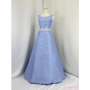 高級子供ドレス 受注生産 オーロラ・プレジュエss ブルー|yume-list