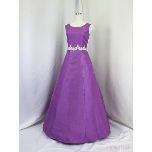 高級子供ドレス 受注生産 ゆめりすと オーロラ・プレジュエss ライラック|yume-list