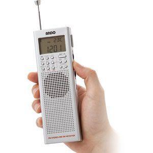 海外ラジオも聴けるハンディBCLラジオ