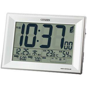 CITIZEN(R)注意報機能搭載 デジタル電波時計...