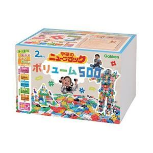 学研 (Gakken) ニューブロック ボリューム500 17種500パーツ 83149 学研ステイ...