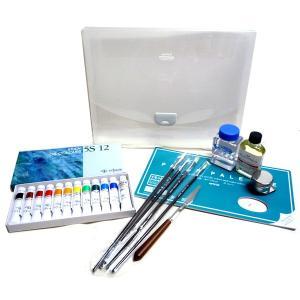 クサカベ 油絵 基本セット 12色セット|yumegazai