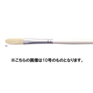 【油絵 油彩筆】ARTETJE アルテージュ 油彩筆 DC701 フィルバート 6号|yumegazai