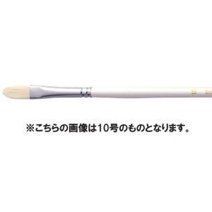 【油絵 油彩筆】ARTETJE アルテージュ 油彩筆 DC702 フィルバート 6号|yumegazai