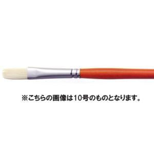 【油絵 油彩筆】 ARTETJE アルテージュ 油彩筆 A フラット 2号|yumegazai