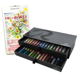 レンブラント ソフトパステル 45色セット 限定セット + 画材料理ブック 美味しい絵の描き方|yumegazai