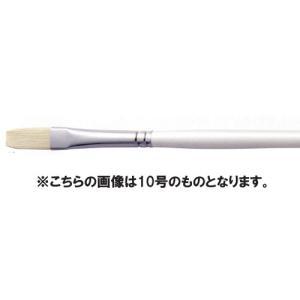 【油絵 油彩筆】 ARTETJE アルテージュ 油彩筆 DC703 フラット 2号|yumegazai
