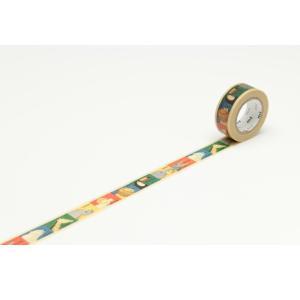 mt マスキングテープ for kids 動物テープ 15mm幅×10m巻 yumegazai