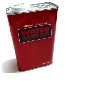 浸透性塗料 ワトコ オイル W-01 ナチュラル 3.6L|yumegazai