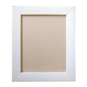 油彩額 ダブルフレーム 乳白色 F0|yumegazai