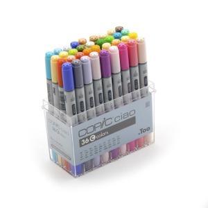 コピック カラーペンCOPIC コピックチャオ 36色 Cセット|yumegazai